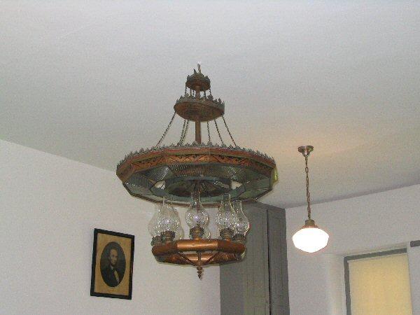 Kerosene Lamp Chandelier