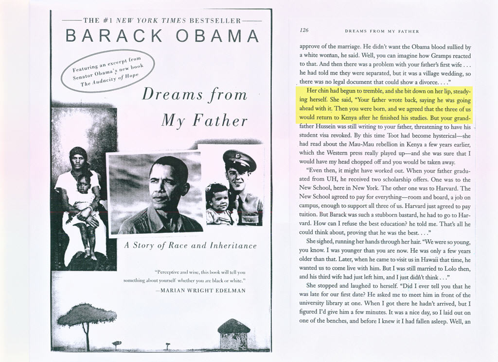 dreams from my father chapter summaries Barack obama's book, dreams from my father, is reviewed here by stephen northcutt of the sans technology institute chapter one is very powerful.