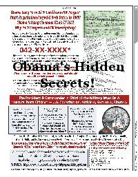 Obama&#039;s Hidden Secrets!