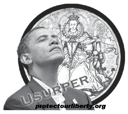 British No Obama Usurper with URL
