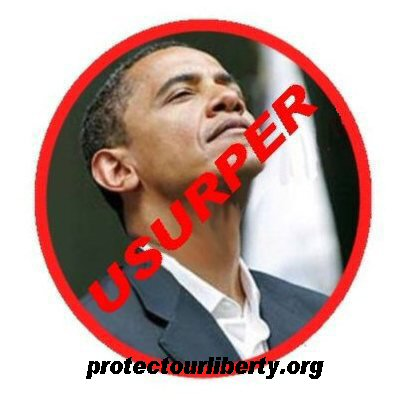 Snooty NoBama Usurper with Tag