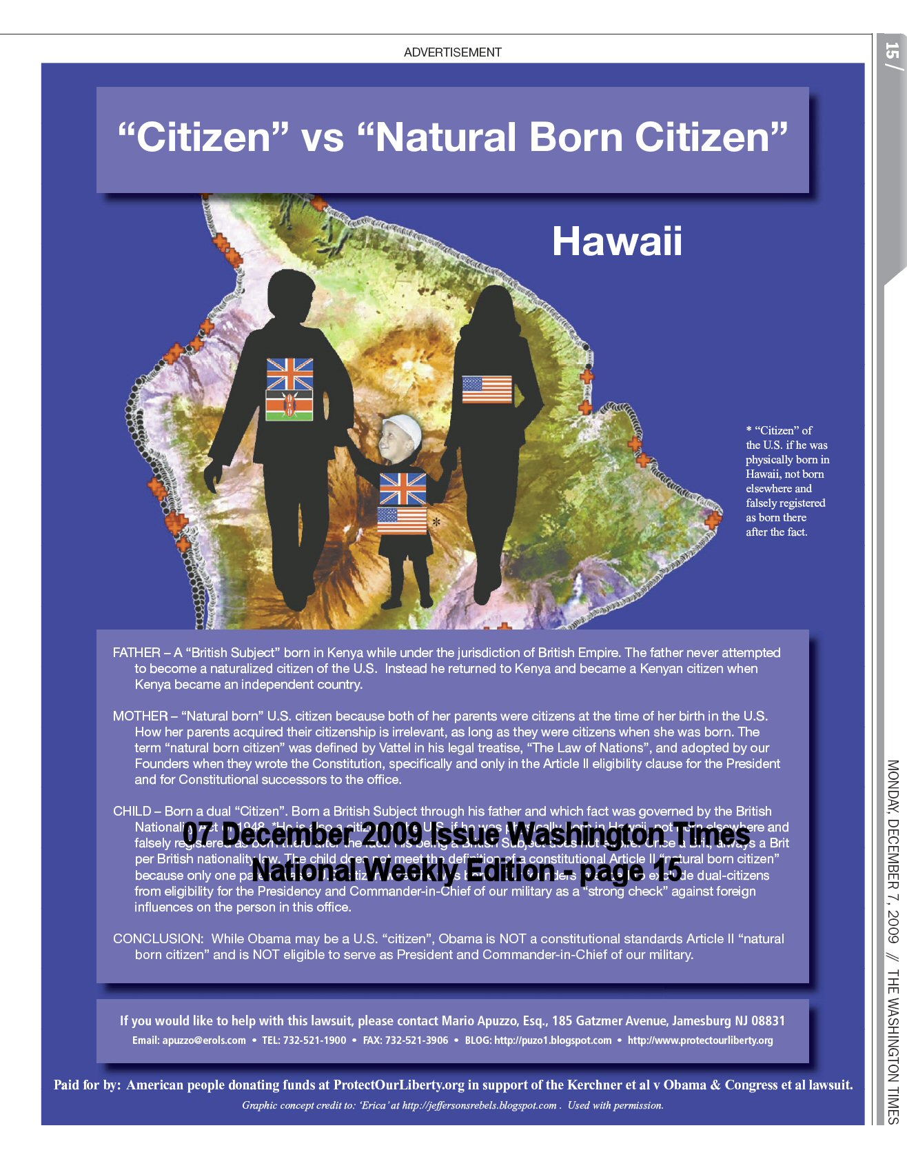 Citizen vs Natural Born Citizen